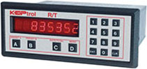 "KEPtrol R/T (KRT)Ratemeter/Totalizer from pulse or analog inputs. Alarm outputs and Aanalog output available. Easy to use ""Phone Style"" keypad"